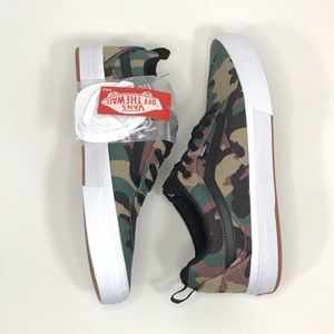 Vans Shoes - NWT VANS Kyle Walker Pro Camo Black/White